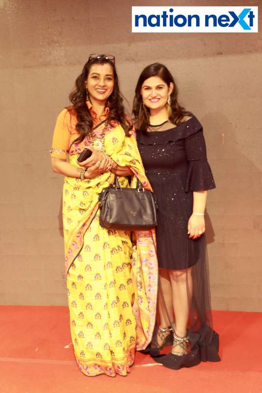 Ekta Bhaiya and Reet Methai at Darlings of Nagpur contest held at Hotel Tuli Imperial