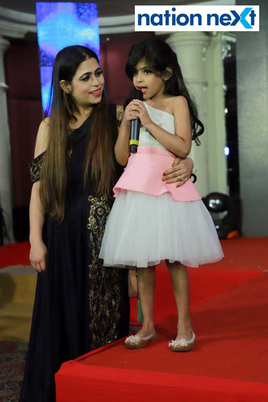 Jiyana Motwani at Darlings of Nagpur contest held at Hotel Tuli Imperial