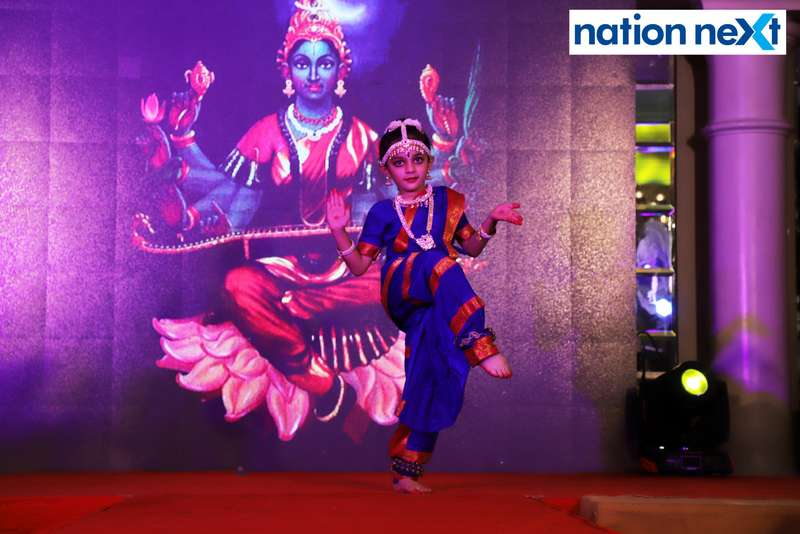 Lavanya Chhabrani during her performance at Darlings of Nagpur contest held at Hotel Tuli Imperial