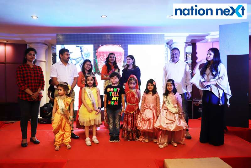 Kids selected by Vidarbha Cine Artists Association at Darlings of Nagpur contest held at Hotel Tuli Imperial
