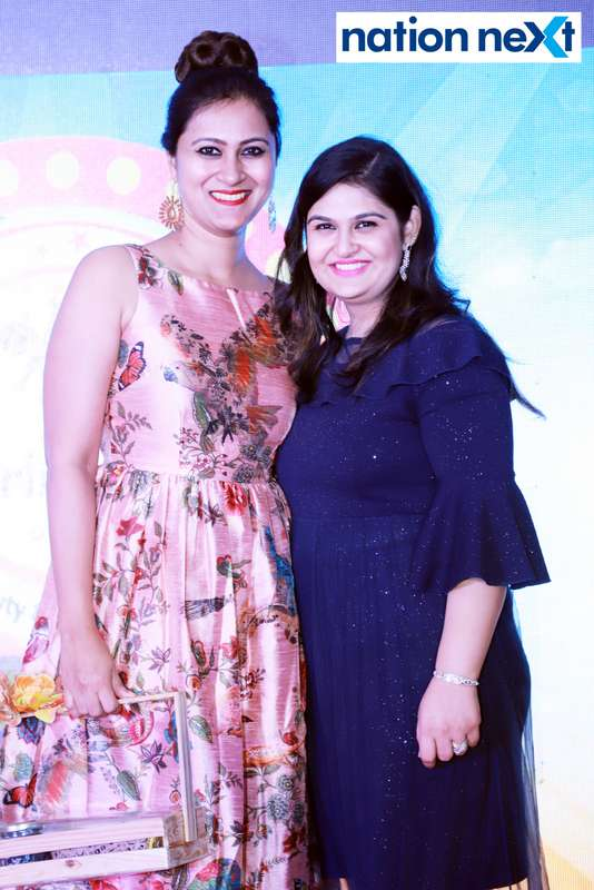 Dr Vartika Patil and Reet Methai at Darlings of Nagpur contest held at Hotel Tuli Imperial