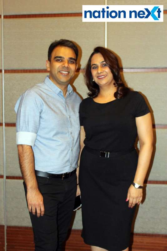 Anurag and Pallavi Pashine at 'Design Perspective' organised by FOAID at Hotel Radisson Blu in Nagpur