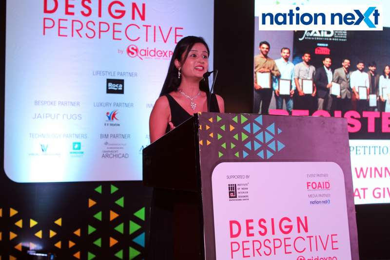 Sneha Sharma at 'Design Perspective' organised by FOAID at Hotel Radisson Blu in Nagpur