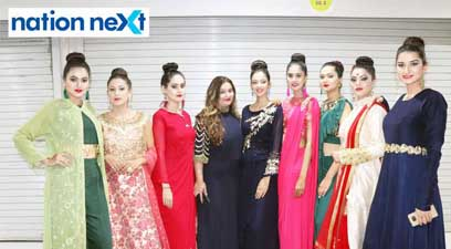 Models sashayed down the ramp in style as they wore the outfits by Amyraa – The Style Studio at a fashion show organised at Ginger Square in Nagpur.