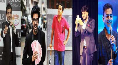 NSRT 258, to raise funds for education of underprivileged children, will be organising - Brain Freeze – a magic show on February 9 in Nagpur. From left: Abhishek Majethia, Sai Gopal, Ian Fernandes, Waseem Mohammed and Manas Tayal. (Photos Source: Facebook)