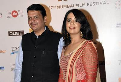 Chief Minister of Maharashtra Devendra Fadnavis on a lighter note said that no matter what, the husband has to say the first sorry.