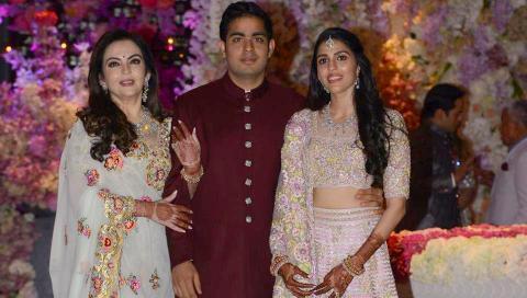 Son of Reliance Industries Chairman Mukesh Ambani and Nita Ambani - Akash Ambani - and Shloka Mehta will be getting married on March 10, 2019 in Mumbai.