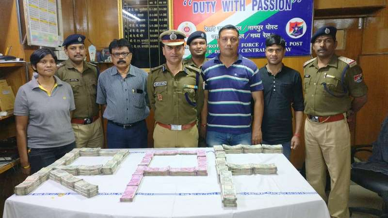 The Special Crime Detention Team of RPF, on Saturday afternoon, seized Rs 67.5 lakh from a passenger on board GT Express at Nagpur Railway Station.