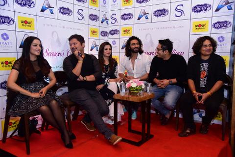 Ram Kamal Mukherjee's A Tribute to Rituparno Ghosh: Season's Greetings starring Celina Jaitly, Lillette Dubey and Azhar Khan wraps up in Kolkata.