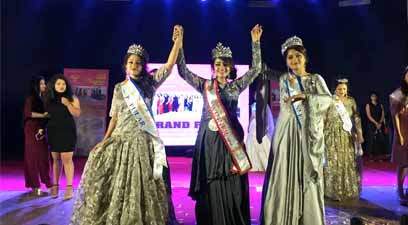 Surbhi Shirpurkar Dawle, who works as a journalist with BBC, was crowned Mrs Nagpur 2019 at the grand finale of the competition held in the city.