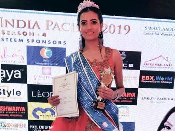 Nagpur girl Tanaya Bowade clinches first runner-up title at Ms India Pacific 2019