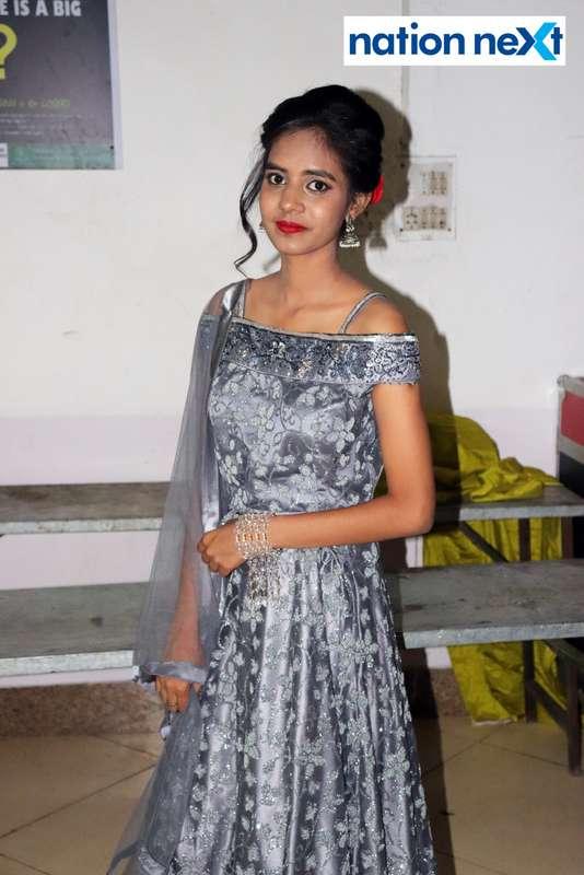Bhagyashri Khandate during PIET's cultural fest Saptrang 19' in Nagpur