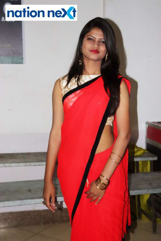 Khushboo Choudhary during PIET's cultural fest Saptrang 19' in Nagpur