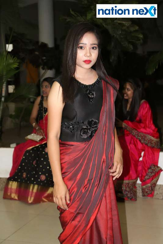 Mrunali Patle during PIET's cultural fest Saptrang 19' in Nagpur