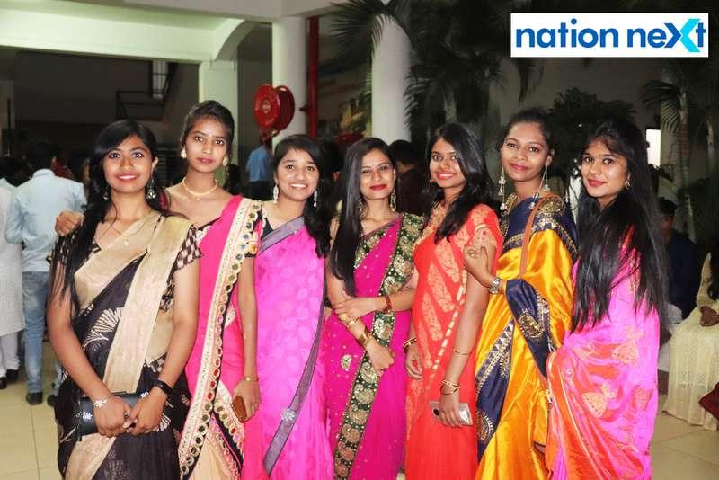 Students during PIET's cultural fest Saptrang 19' in Nagpur