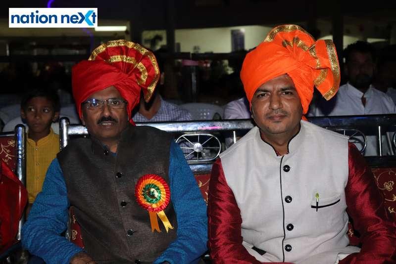 Sadanand Deshpande and Waheed Deshmukh during PIET's cultural fest Saptrang 19' in Nagpur
