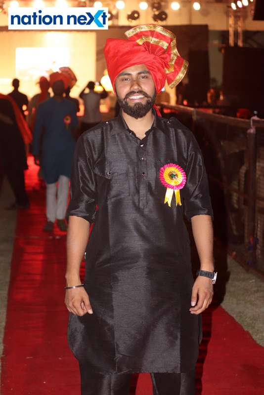 Sarjat Mathur during PIET's cultural fest Saptrang 19' in Nagpur