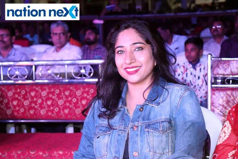Shikha Khare during PIET's cultural fest Saptrang 19' in Nagpur