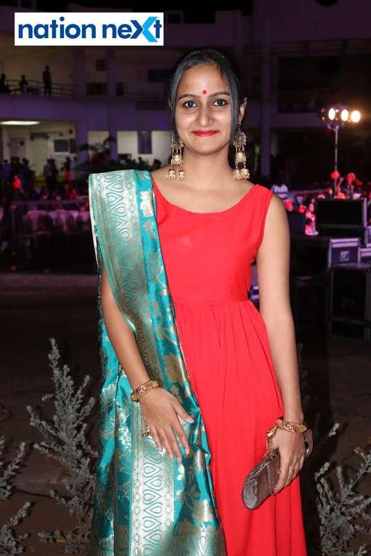 Shivani during PIET's cultural fest Saptrang 19' in Nagpur