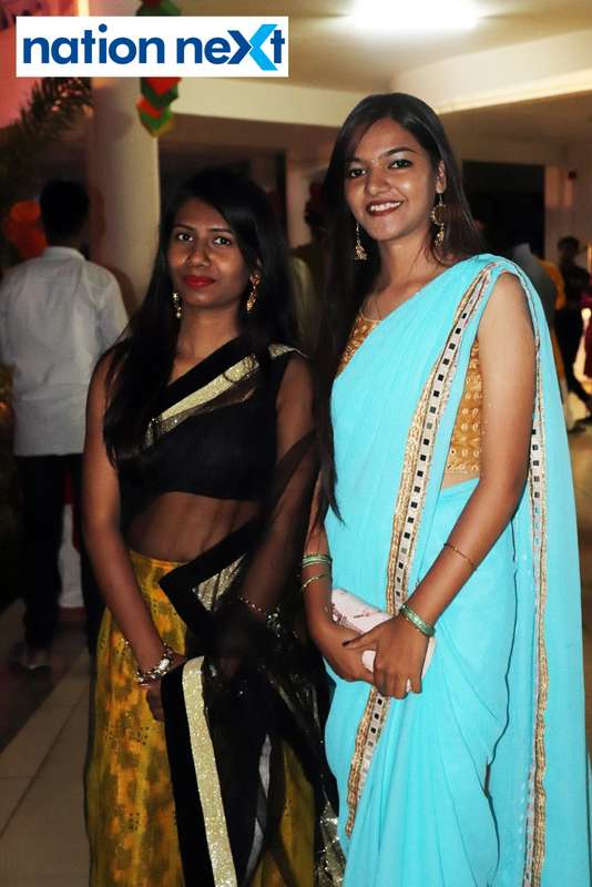 Shubhangi Godichor and Ankita Vishwakarma during PIET's cultural fest Saptrang 19' in Nagpur