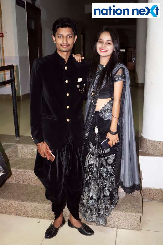 Swapnil Raware and Deepti Bhaisare during PIET's cultural fest Saptrang 19' in Nagpur