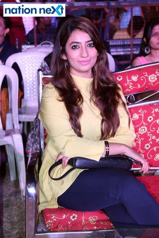 Aditi Rai during PIET's cultural fest 'Saptrang' in Nagpur