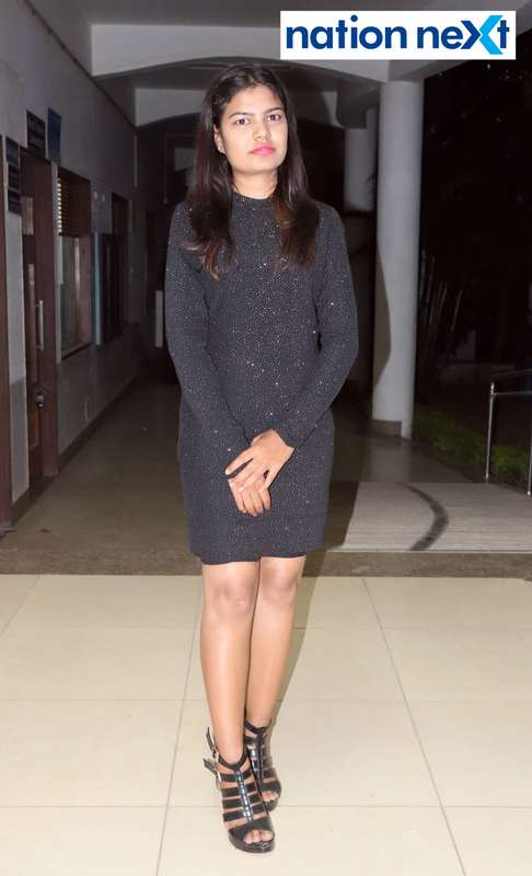 Sonali Murkhe during PIET's cultural fest 'Saptrang' in Nagpur