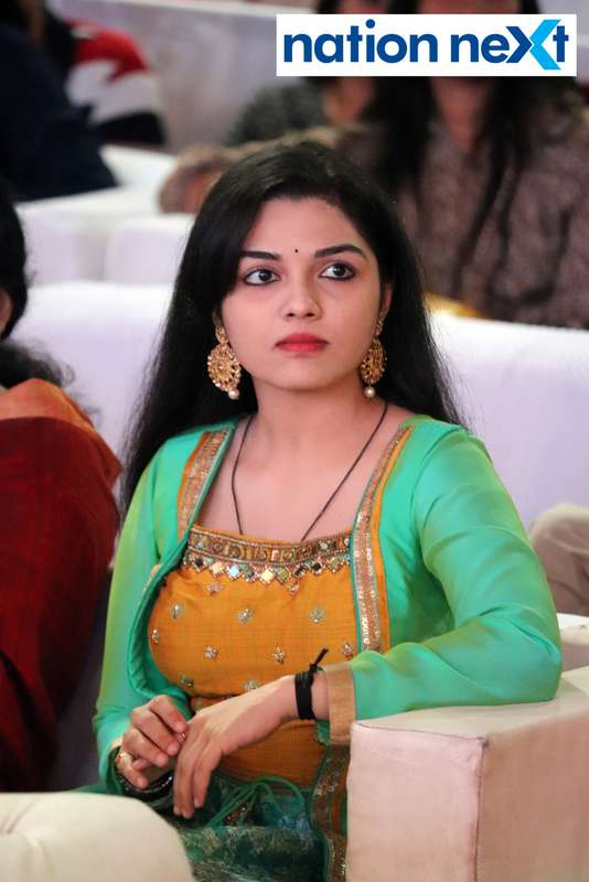 Aarya Ambekar at Sur Jyotsna National Music Awards 2019 held in Nagpur