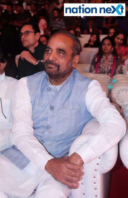 Union Minister Hansraj Ahir at Sur Jyotsna National Music Awards 2019 held in Nagpur