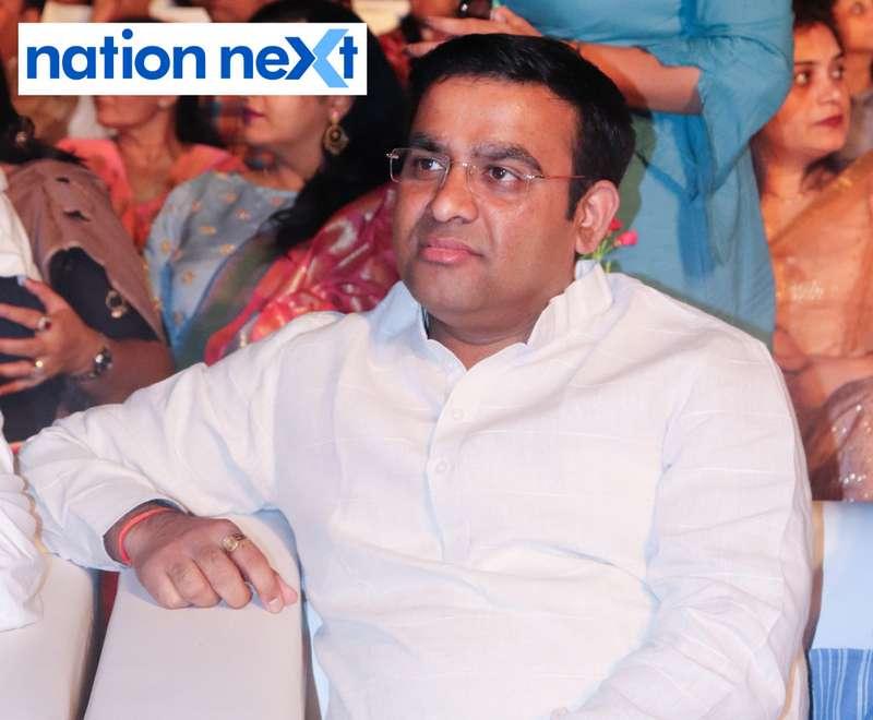 MLC Parinay Fuke at Sur Jyotsna National Music Awards 2019 held in Nagpur