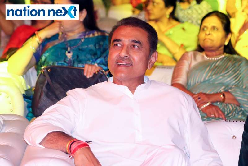 Former minister Praful Patel at Sur Jyotsna National Music Awards 2019 held in Nagpur