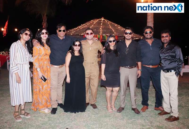 Members during Nagpur Spirits Round Table 258's social meet held at Suraburdi Meadows