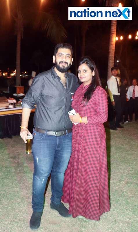 Nishant and Prachi Yaducka during Nagpur Spirits Round Table 258's social meet held at Suraburdi Meadows