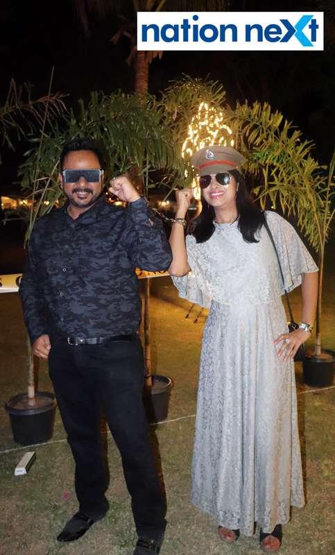 Radhika and Kshitiz Agrawal during Nagpur Spirits Round Table 258's social meet held at Suraburdi Meadows