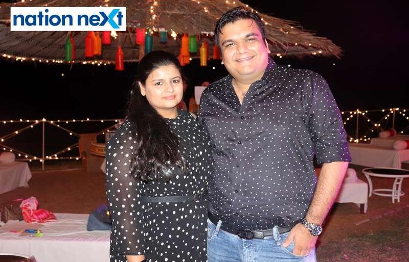 Richa and Vedant Agrawal during Nagpur Spirits Round Table 258's social meet held at Suraburdi Meadows