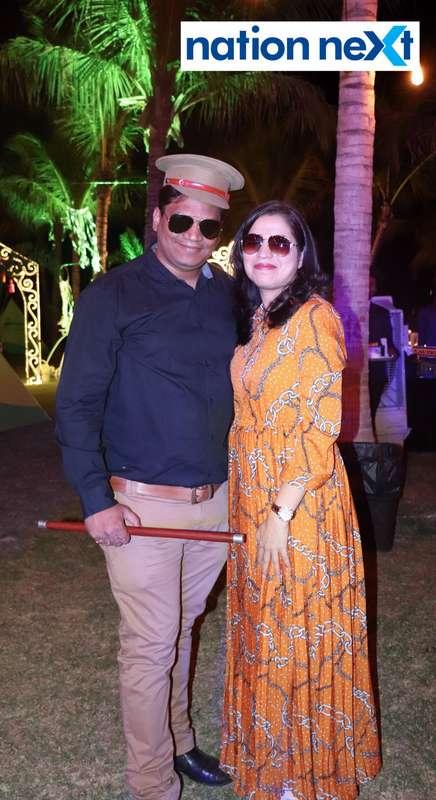 Dheeraj and Rupali Agrawal during Nagpur Spirits Round Table 258's social meet held at Suraburdi Meadows