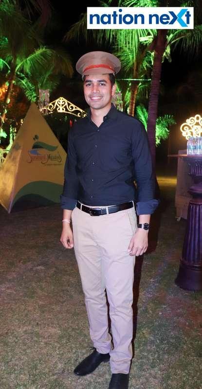 Sahil Shah during Nagpur Spirits Round Table 258's social meet held at Suraburdi Meadows