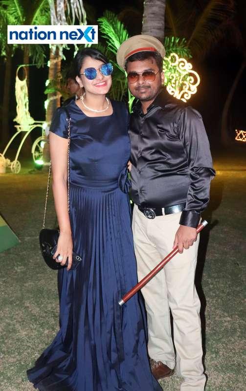 Tejal and Brajesh Murarka during Nagpur Spirits Round Table 258's social meet held at Suraburdi Meadows