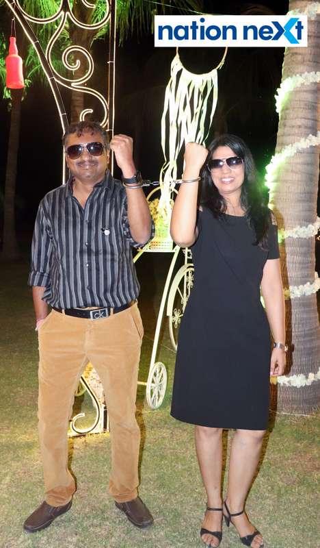 Sidharth and Shachi Saraf during Nagpur Spirits Round Table 258's social meet held at Suraburdi Meadows