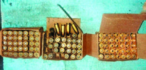 Tension arose after a sweeper of Carriage and Wagon (C&W) at Nagpur Railway Station discovered 98 live cartridges of 9 mm pistol on Monday.
