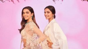 Bollywood actress Deepika Padukone unveiled her wax statue along with actor and husband Ranveer Singh at Madame Tussauds in London today.