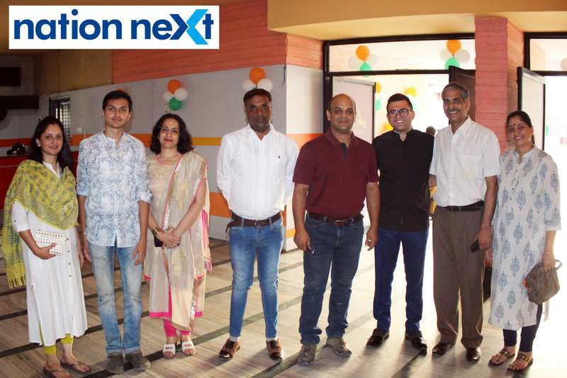 Guests during the inauguration of Buty Cineplex in Nagpur