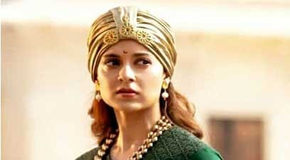 Actress Kangana Ranaut in the film 'Manikarnika: The Queen of Jhansi'