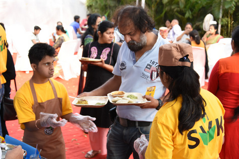 For the first time ever , differently-abled people along with LAD College conducted Millet Food Festival at Chitnavis Centre.
