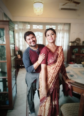 For the first time ever in Bollywood, director Ram Kamal Mukherjee casted transgender Shree Ghatak in Celina Jaitly's comeback film Season's Greetings.