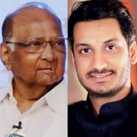 Sharad Pawar said he's not going to contest 2019 Lok Sabha elections so that daughter Supriya Sule and grandson Parth Pawar could contest instead.