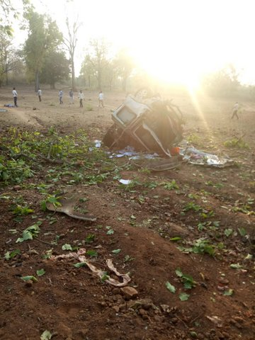 BJP MLA Bhima Mandavi (35) and five of his security personnel were killed today evening after Maoists in Dantewada at Chattisgarh attacked their convoy.