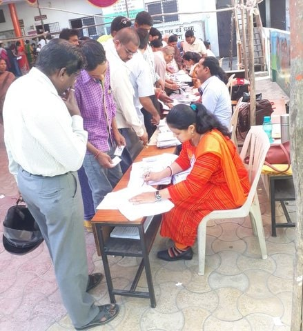 Despite the scorching heat, around 11, 47, 640 Nagpurians came forward to vote in 42°C till 5 pm for the Lok Sabha elections today.