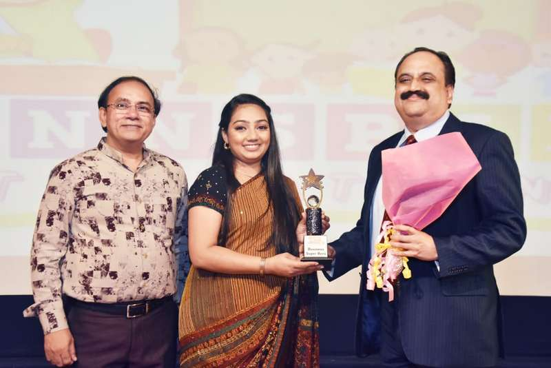 Sanjeev Pendharkar was felicitated with the 'Best Business Superhero' award by Mumbai's Winnspire International Preschool on April 5, 2019.