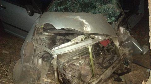 In an unfortunate incident, a car on board five teachers on way from Nagpur apparently collided with a tree on Thursday night near Champa in Umred.